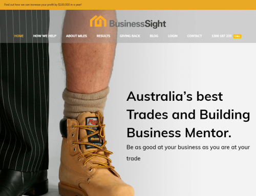 Recently Completed Website Design – BusinessSight
